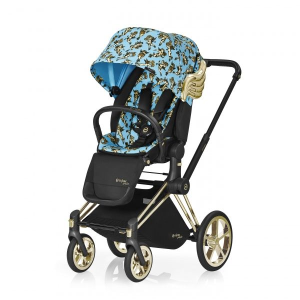 Cybex Priam Lux Seat Jeremy Scott Cherub Blue прогулянкова коляска