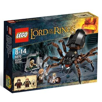 "Lego Lord of the Rings ""Напад Шелоба"" конструктор (9470)"
