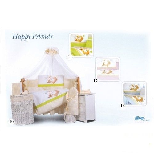 Tuttolina Happy Friends комплект белья 7 элементов