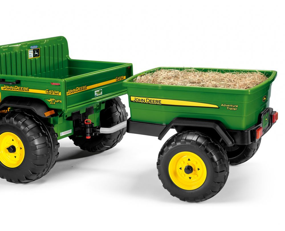 Peg-Perego John Deer Adventure Trailer Прицеп