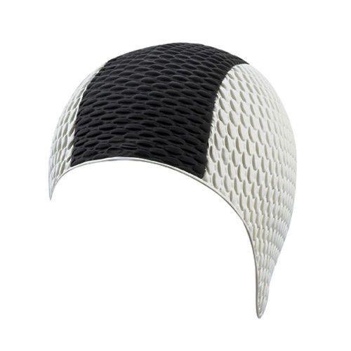 beco Beco 7331 шапочка для плавания white-black