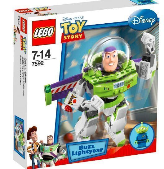 LEGO Toy Story Construct-a-Buzz Збери База конструктор