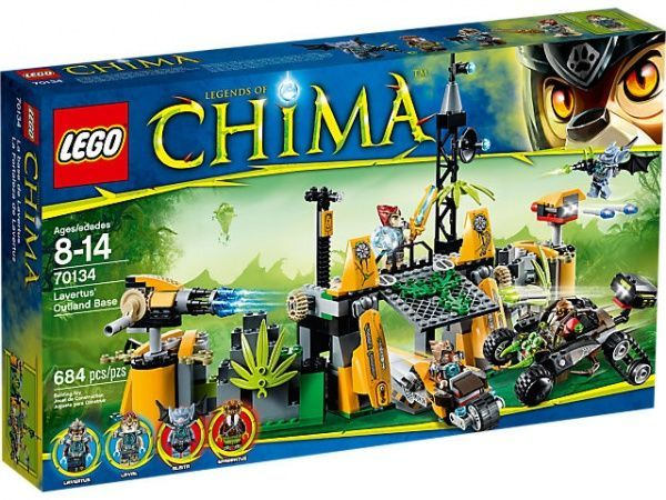 LEGO LEGENDS OF CHIMA Lavertus' Outland Base Віддалена база Лавертуса конструктор
