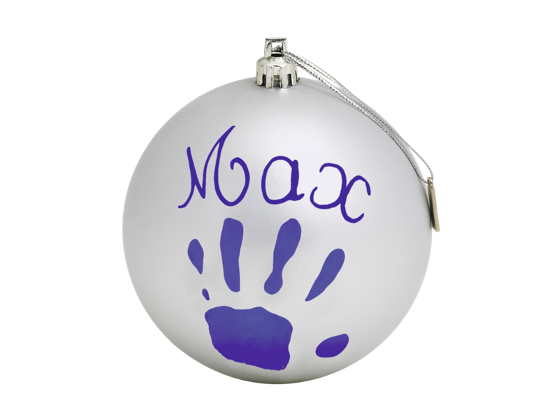baby art Рождественский шар Baby Art silver 34120155
