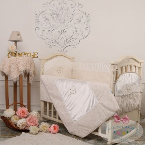... Маленька Соня Версаль комплект постільної білизни 7 елементів шоколад eeadd61f09000