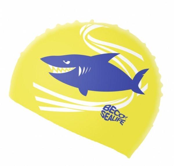 beco BECO 73942 шапочка для плавания детская желтый 739422