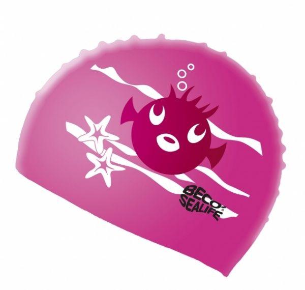 beco BECO 73942 шапочка для плавания детская розовый 739424