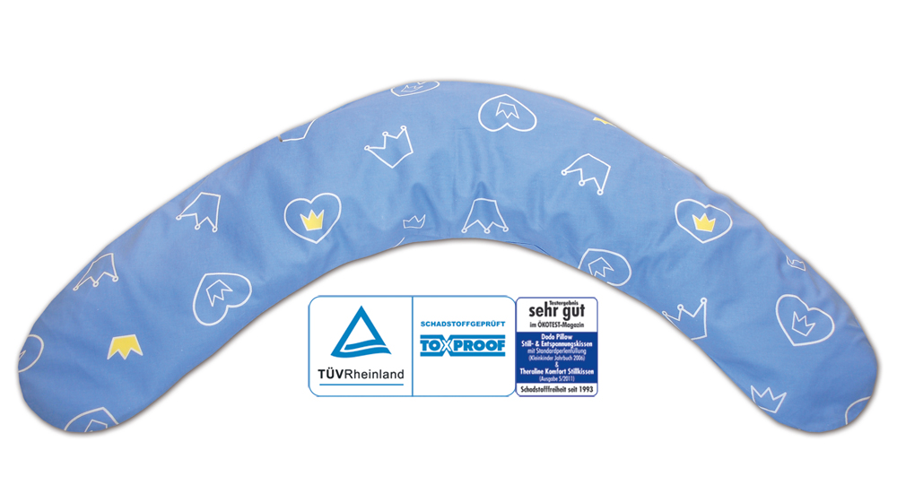 theraline Dodo Theralineподушка для кормления и сна Blue 52043402