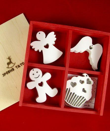 Зробив Тато Зробив Тато Сладкое Рождество набор новогодних игрушек TOYS18014