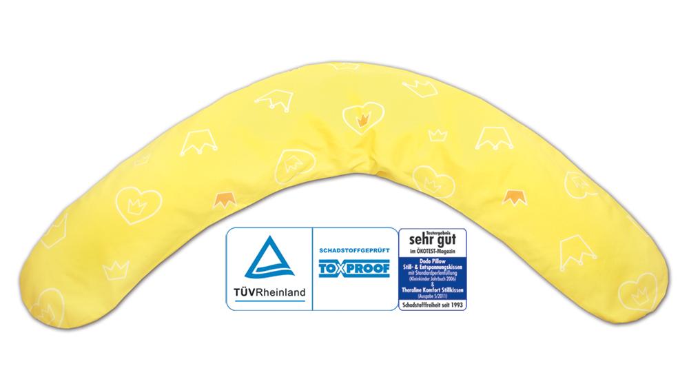 theraline Dodo Theralineподушка для кормления и сна Yellow 52043502