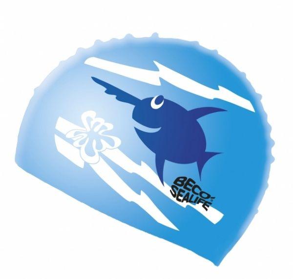 beco BECO 73942 шапочка для плавания детская синий 739426