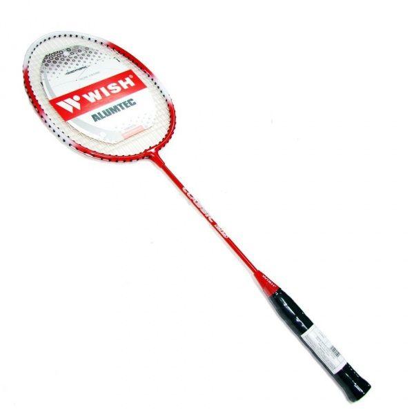 wish WISH ALUMTEC 215 ракетка для бадминтона 5 красный 14-0-058