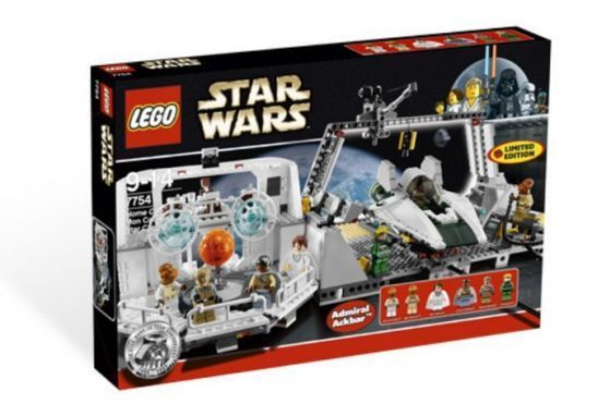 Lego Star Wars 7754 Home One Mon Calamari Star Cruiser База Зоряного крейсера Mon Calamari