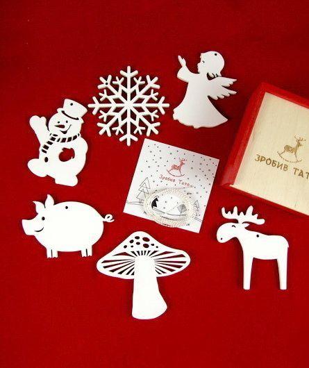 Зробив Тато Зробив Тато Веселый сюрприз набор новогодних игрушек %20TOYS18011