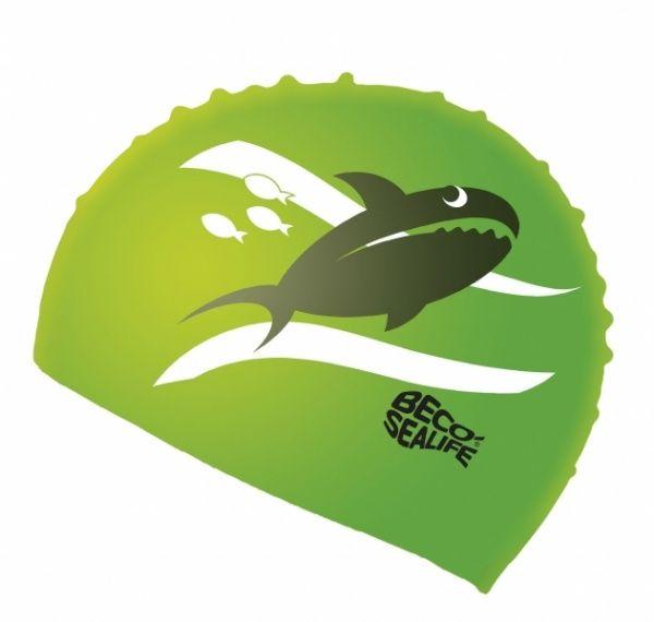 beco BECO 73942 шапочка для плавания детская зеленый 739428