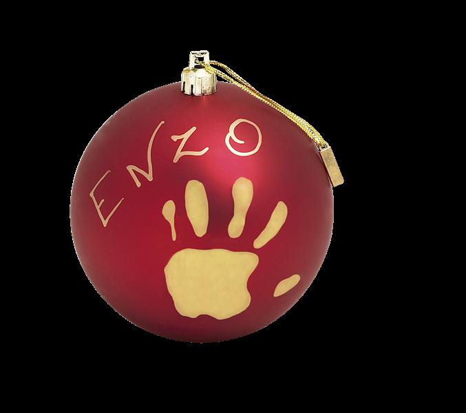 baby art Рождественский шар Baby Art red 34120153