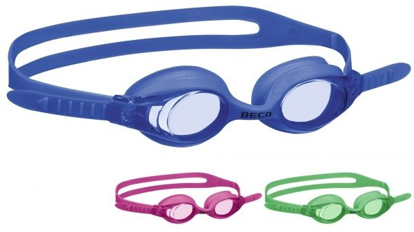 beco BECO COLOMBO 12+ очки для плаванья зеленый 990258