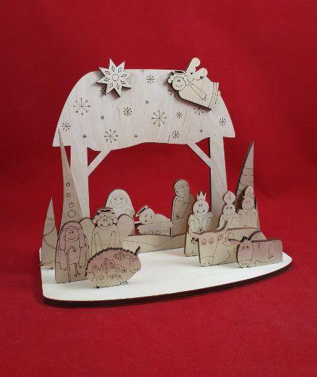 Зробив Тато Зробив Тато Шопка детская Рождественский вертеп-раскраска NY0002