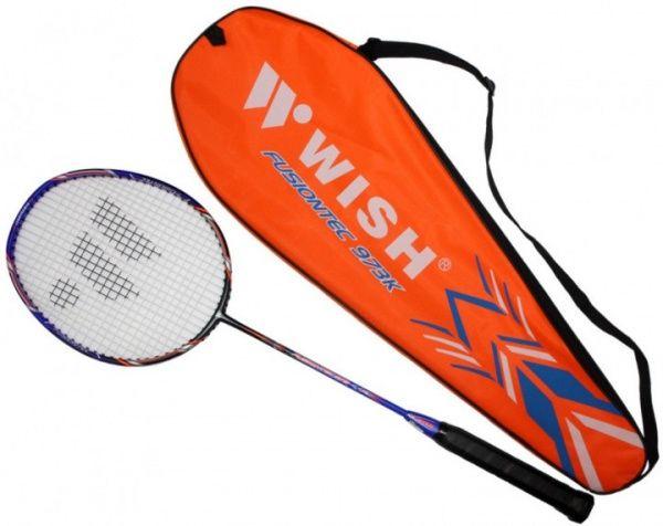 wish Wish Fusiontec 973 ракетка для бадминтона Blue-Black 14-00-043