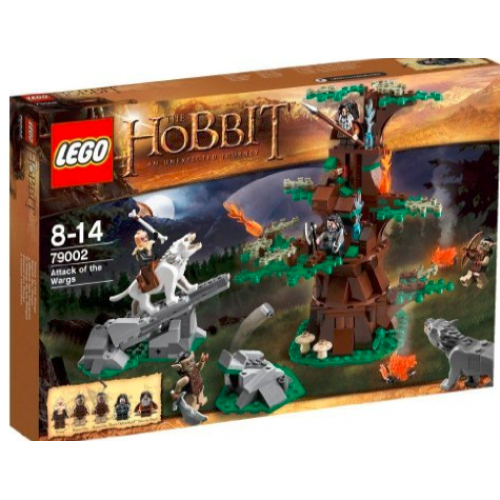 LEGO THE HOBBIT 79002 Attack of the Wargs Атака Варгів конструктор