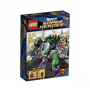 LEGO Super Heroes Superman Vs Power Armor Lex Супермен против робота Лекса конструктор