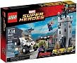 "LEGO Super Heroes The Hydra Fortress Smash Разгром крепости ""Гидры"" конструктор"
