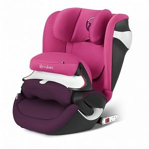 Cybex Juno М-fix Infra Red автокріслоPassion Pink purple PU2