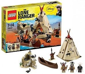 LEGO The Lone Ranger Comanche Camp Лагерь команчей конструктор
