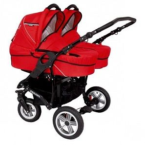 Коляска для двойни 2 в 1 Zekiwa Sport Duo Red