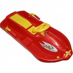 Plast kon Snow boat cанкиSAN-05-01	#red