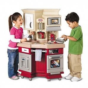 Little Tikes Master Chef Exclusive Інтерактивна дитяча кухняred#484377