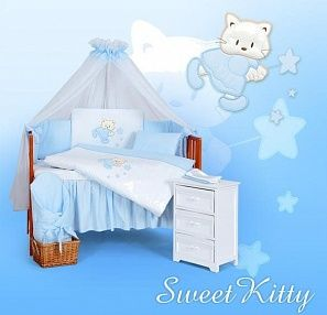 Tuttolina Sweet Kitty комплект белья 7 элементовblue 29