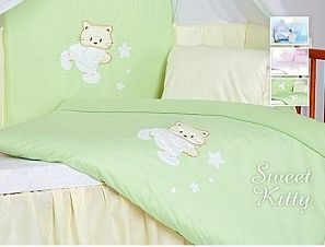 Tuttolina Sweet Kitty комплект белья 7 элементовgreen 30