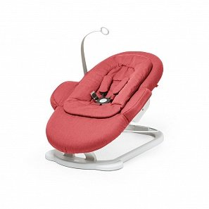 Stokke Steps Bouncer шезлонг pink