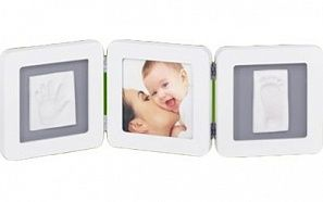 Рамочка Baby Art Double Print FrameWhite & Grey