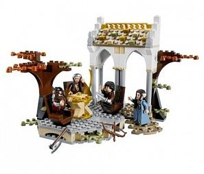 "Lego the Lord of the Rings ""Рада у Елронда"" конструктор (79006)"