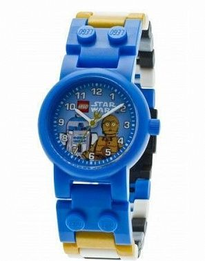 LEGO Star Wars 9001178 C-3PO and R2-D2 Watch Часы Звездные Войны с C-3PO и R2-D