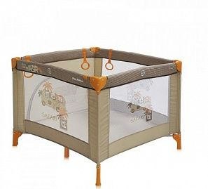 Bertoni Play Station манеж18179#beige safari tours