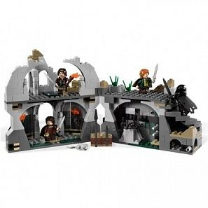 "Lego the Lord of the Rings ""Напад на Везертоп"" конструктор (9472)"