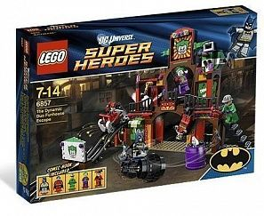 "LEGO Super Heroes The Dynamic Duo Funhouse Escape Побег Бэтмена и Робина из ""комнаты смеха"" конструктор"