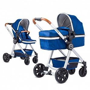 Коляска 2 в 1 KnorrBaby For YouBlau-Silber#860602