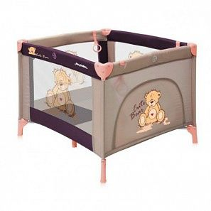 Bertoni Play Station манеж17420#beige bear
