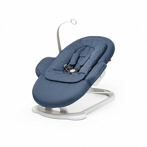 Stokke Steps Bouncer шезлонг blue