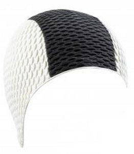 beco Beco 7330 шапочка для плавания 10 White Black